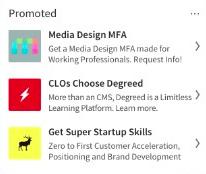 Exemple d'annonce textuelle Linkedin