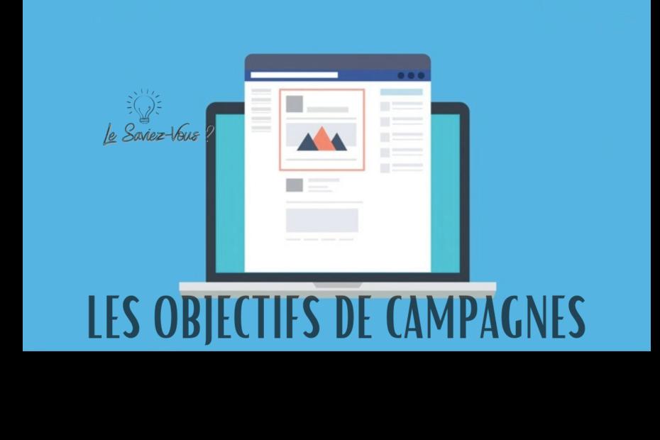 Objectifs de campagnes Facebook Ads_Le Saviez Vous