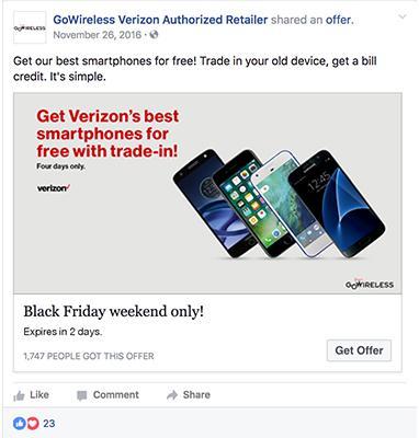 Annonce Offres promotionnelles